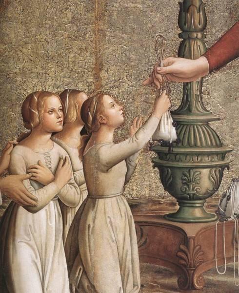 Annunciation detail